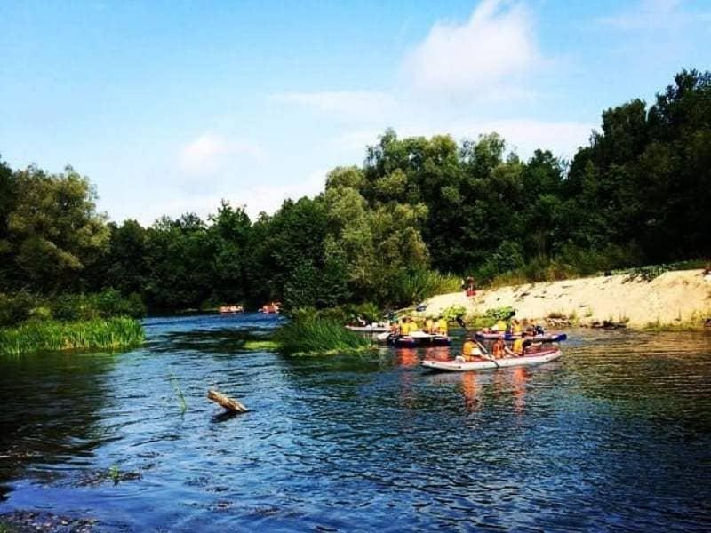 сплав по реке Илеть
