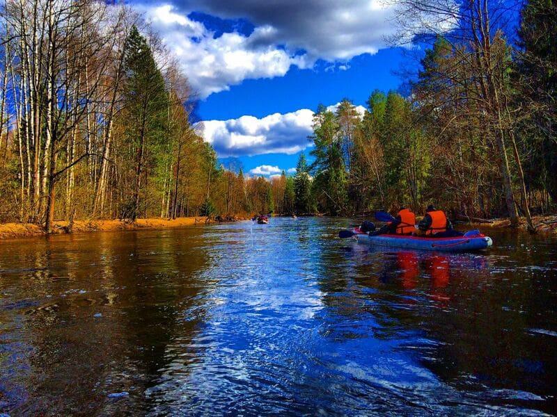 сплав на реке